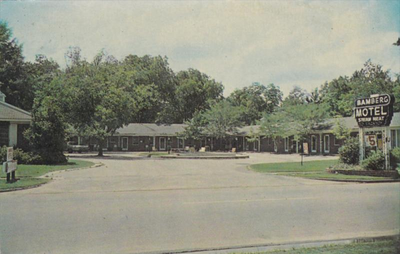 Bamberg Motel, BAMBERG, South Carolina, 40-60s