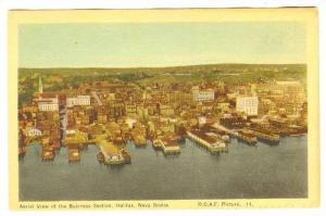 Aerial View of the Business Section;  Halifax, Nova Scotia, 00-10s