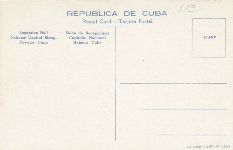 HAVANA , Cuba , 00-10s ; Reception Hall, National Capitol Building