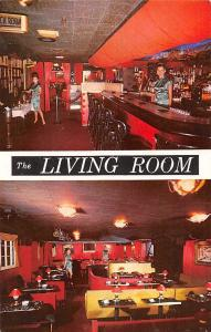 N.Y.C. The Living Room, Intimate Supper Club, Catering Facilities 1963
