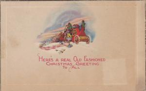 Here's a real Old Fashioned  Christmas greeting to all, Stage Coach, PU-1928