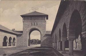RP: West Entrance to Quadrangle , Stanford University , California , PU-1912