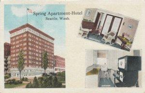 SEATTLE, Washington, 1926; Spring Apartment-Hotel