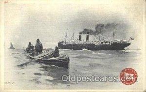 Antwepper, New York,USA Red Star Line, Lines Ship Ships Postcard Postcards An...
