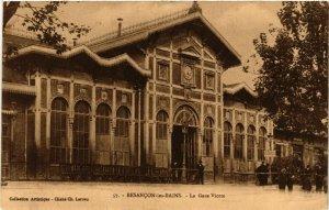 CPA BESANCON-les-BAINS - La Gare Viotte (487131)