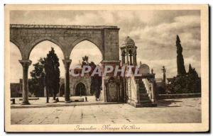 Postcard Old Jerusalem Al-Aqsa Mosque