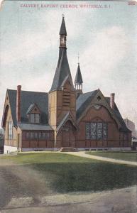 WESTERLY , Rhode Island , 00-10s ; Calvery Baptist Church