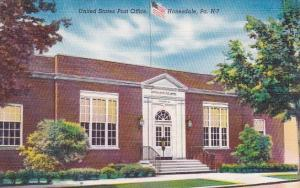 Pennslyvania Honesdale United States Post Office