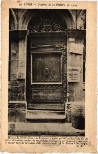 CPA LYON - Quartier de la Platiere en 1905 - Maison du XVII siecle (450639)
