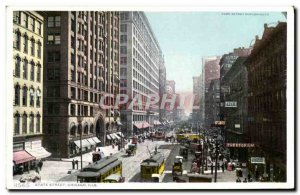 Postcard Old Chicago State Street