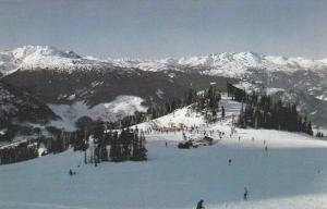 Ski Resort , Whistler Mountain , B.C. , Canada , 40-60s View from top of chai...