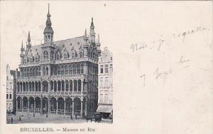Belgium Brussells Maison Du Roi