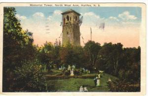 HALIFAX , Nova Scotia , Canada , PU-1928 : Memorial Tower , North West Arm
