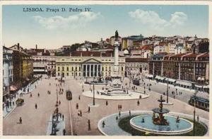 Praca D. Pedro IV, Lisboa, Portugal, 1900-1910s