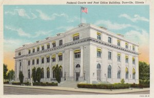 DANVILLE , Illinois , 1946 ; Courts & Post Office