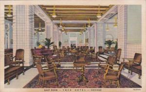 Illinois Chicago Y M C A Hotel East Room 1938 Curteich