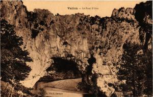 CPA Vallon- Le Pont d'Arc. (661104)