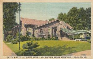 ST LOUIS, Missouri, 1950 ; Calvin F. Feutz Funeral Home