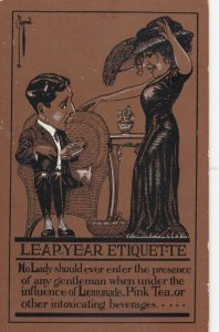 RYAN ; 1900-10s ; LEAP YEAR Etiquette Enter the presence...