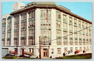 Port Chester New York~Life Savers Factory~Office Building~Giant Candy Rolls~1960
