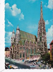 Austria Wien Vienna Stefansdom St Stephen's Cathedral 1971