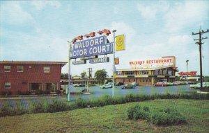 Waldorf Motor Court & Restaurant Pool Waldorf Maryland