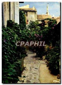 Postcard Modern Lovers Street Ramatuelle Var
