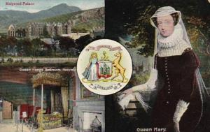 Queen Mary Showing Queen's Bedroom & Holyrood Palace