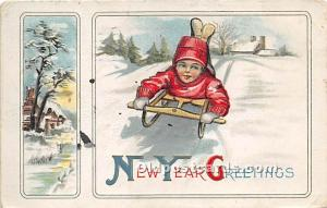 New Year Greetings 1915