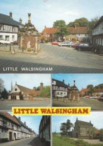 Little Walsingham Norfolk Village 2 1970s Postcard s