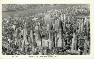 USA New York Radio City Midtown Hotels RPPC 03.78