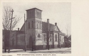 REED CITY , Michigan , 00-10s ; First Congregational Church