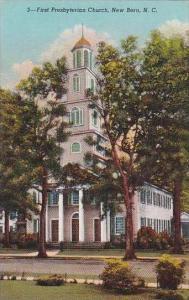 North Carolina New Bern First Presbyterian Church