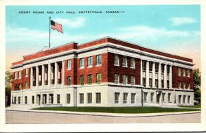 Kansas Coffeyville Court House and City Hall