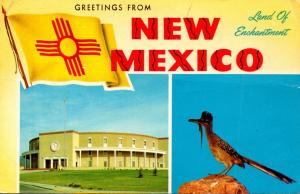 New Mexico Greetings From The Land Of Enchantment 1970
