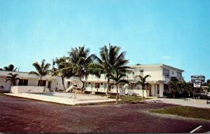 Florida Deerfield Beach Poinciana Motel Apartments 1967