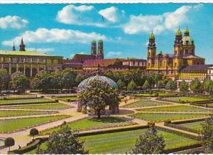 Germany Muenchen In Hofgarten