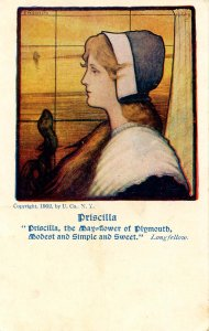 Priscilla - The May-Flower of Plymouth