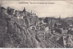 LUXEMBOURG; Vue prise de la Caserne des Volotaires, PU-1908