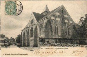 CPA Samois Abside de l'Eglise FRANCE (1101213)