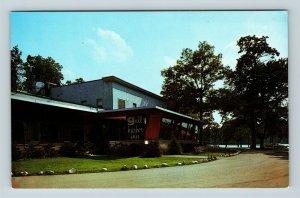 Richland MI, Gull Harbor Inn, Restaurant, Chrome Michigan Postcard