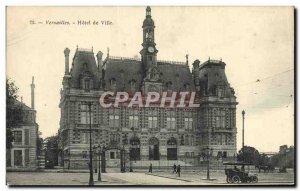 Postcard Old Versailles Hotel De Ville