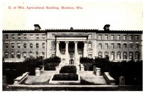 Wisconsin  Madison , Iniv. Wisconsin , Agricultural Building