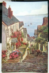 England Down-a-long Clovelly - Unposted