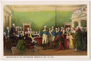 Resignation of George Washington,