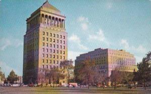 Missouri Saint Louis The Civil Courts Building And The Federal Building