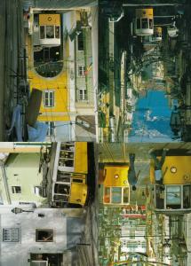 Prazeries Lisboa Bus Tram 4x Portugal Transport Postcard s