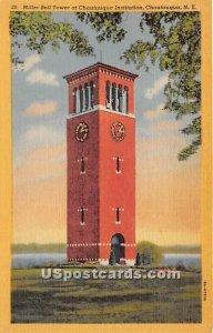 Miller Bell Tower, Chautauqua Institution - New York