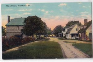 Main St, Yorktown VA