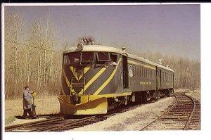 Winnipeg Water District Railway Train, Waugh,  Manitoba, Track Switcher